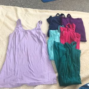 "Lot of 6 Old Navy ""Tami"" Tank Tops - All Large"